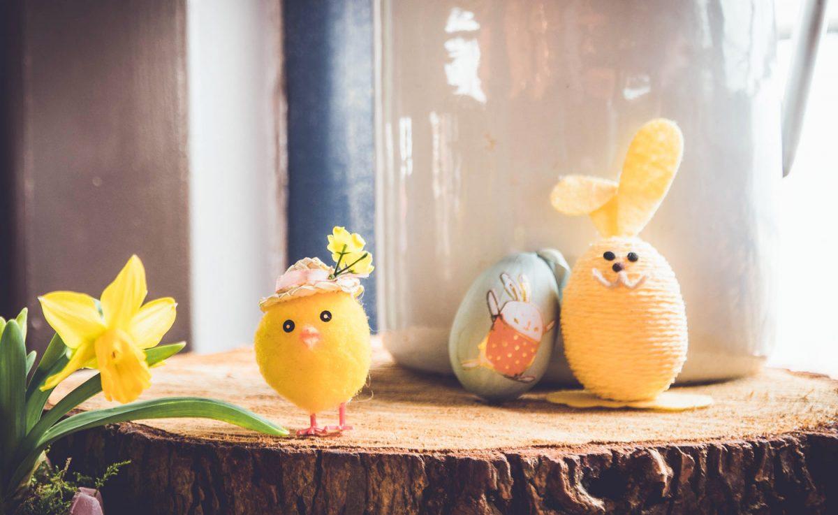Frohe Ostern wünscht die Volksschule Forchtenstein